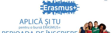BURSE ERASMUS+ 2017-2018