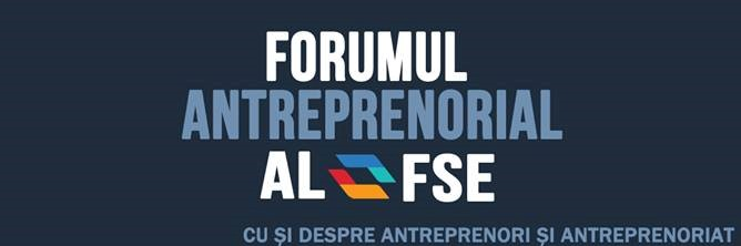 Forumul Antreprenorial al studenților FSE - 19.11.2015