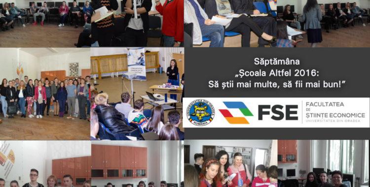 Scoala Altfel 2016 la FSE