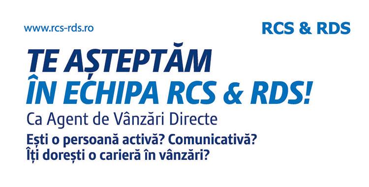 Agent de vânzări directe RCS & RDS