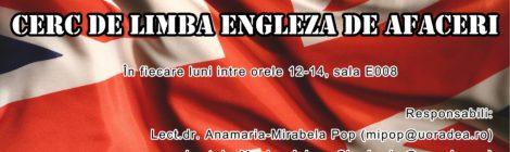 Business English Workshop - Cerc de limba engleză pentru afaceri