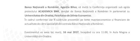 Conferința Academica BNR
