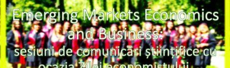 Facultatea de Stiinte Economice organizeaza, cu ocazia Zilei economistului, trei sesiuni de comunicari stiintifice