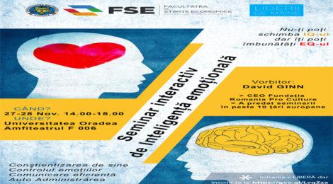 Seminarul interactiv de inteligenta emotionala