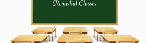 Activități remediale semestrul II 2018/2019