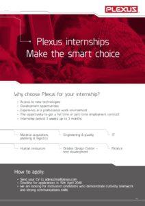 Plexus intership