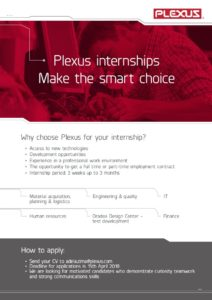 Plexus intership