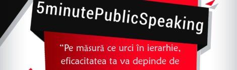 5minute PublicSpeaking ediția a II-a