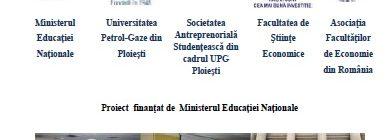 Invitație ȘCOALA DE EXCELENȚĂ ÎN TURISM ȘI ANTREPRENORIAT 18-20 aprilie 2018