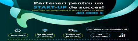 Conferinta de informare PARTENER STARTUP - Oradea, 15 martie orele 10, Aula Magna