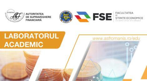Laboratorul Academic organizat în parteneriat cu Autoritatea de Supraveghere financiara, pe tema Piața de capital în contextul economiei naționale.