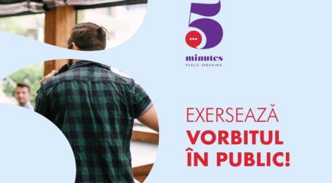 5minutes PublicSpeaking - ediția a III-a