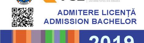 BA admission 2019