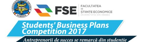 Students' Business Plans Competition 2017