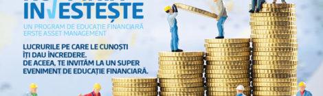 Conferinta Romania Investeste - eveniment de educatie financiara